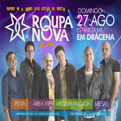 Roupa Nova - 27/08/17 - Dracena - SP