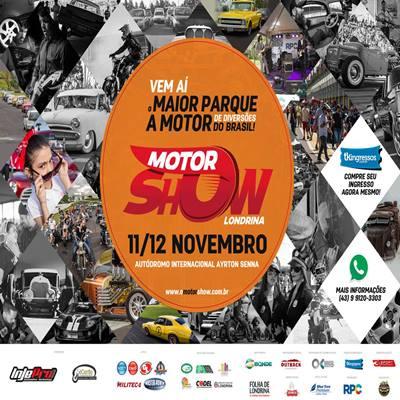 O Motor Show - Domingo - 12/11/17 - Londrina - PR