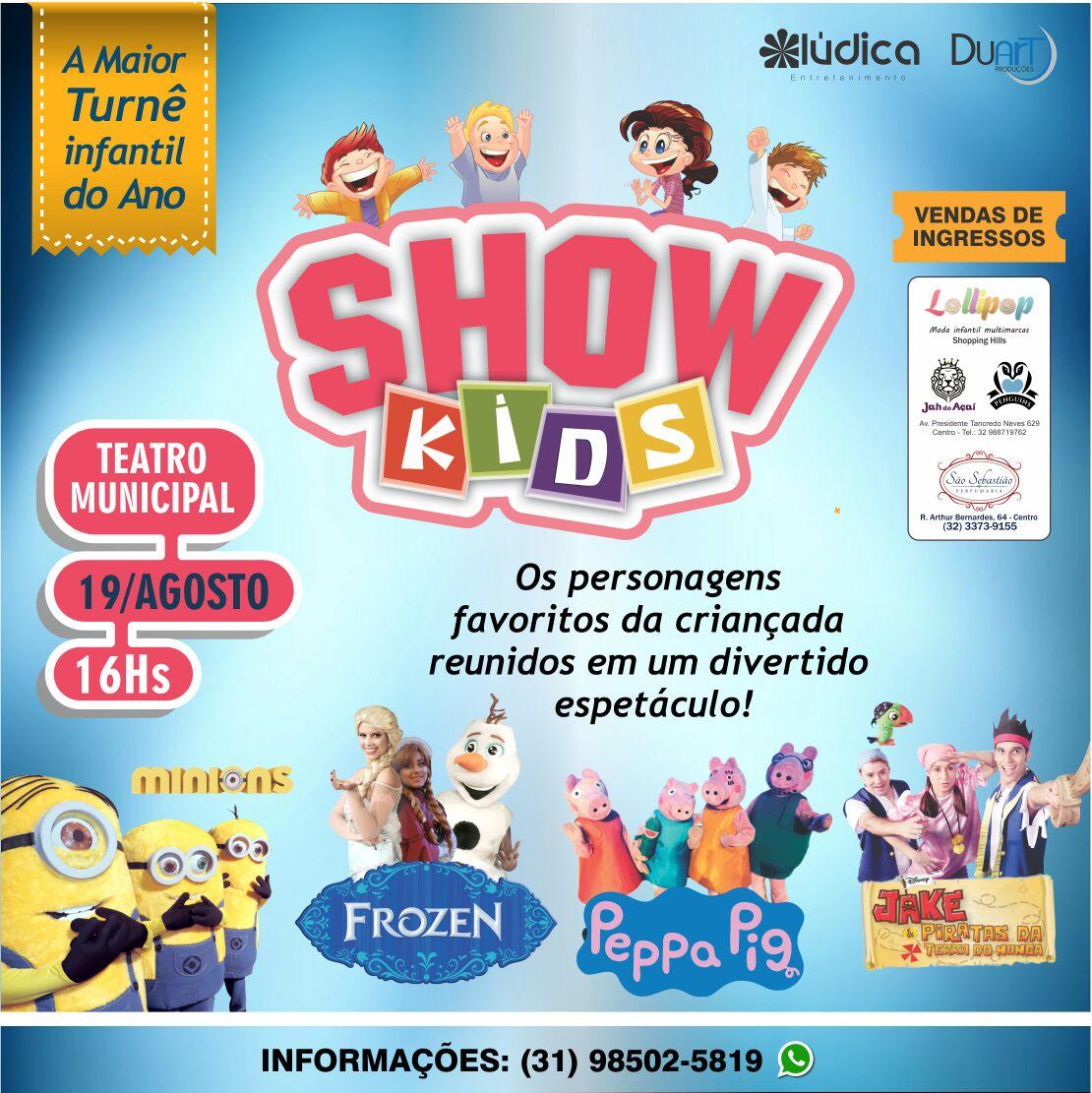 Show Kids - 19/08/17 - São João Del Rei - MG