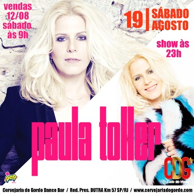 Paula Toller - Cervejaria do Gordo - 19/08/17 - Lorena - SP