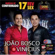 João Bosco & Vinícius - 17/02/17 - Marília - SP - TKINGRESSOS