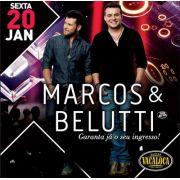 Marcos & Belutti - 20/01/17 - Mogi das Cruzes - SP - TKINGRESSOS