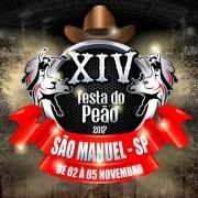 Festa do Peão - 02, 03 e 04/11/17 - São Manuel - SP - TKINGRESSOS