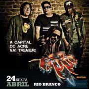 O Rappa - 24/04/15 - Rio Branco - AC