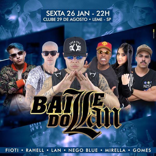 Baile do Lan - 26/01/18 - Leme - SP