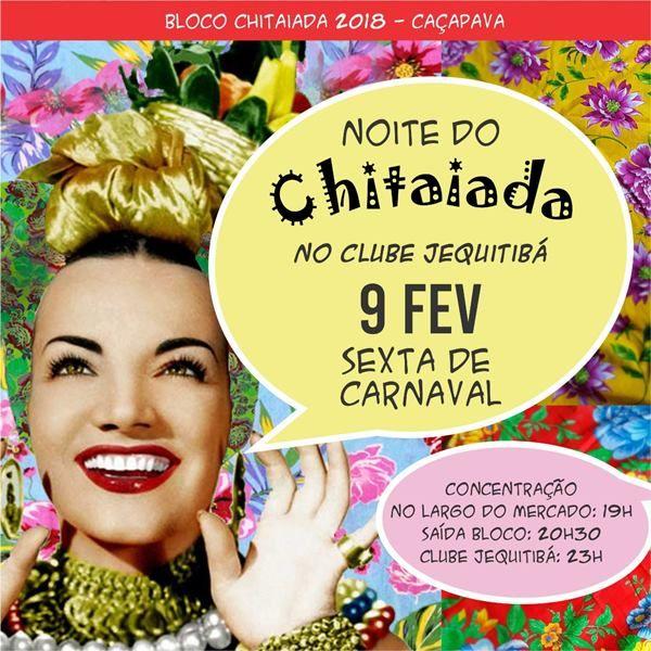Bloco Chitaiada 2018 - 09/02/18 - Caçapava - SP