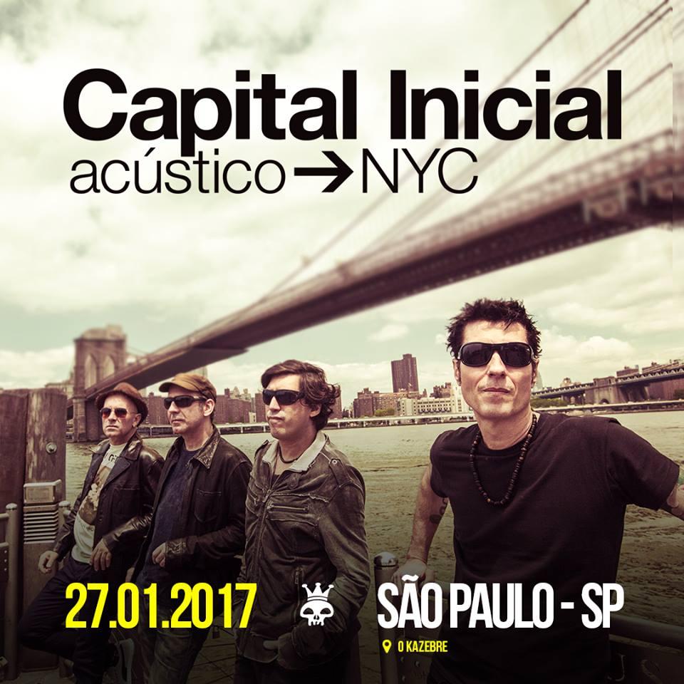 Capital Inicial - 23/02/18 - São Paulo - SP