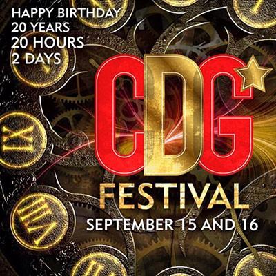 CDG Festival 20 anos - Cervejaria do Gordo - 15/09/17 e 16/09/17 - Lorena - SP