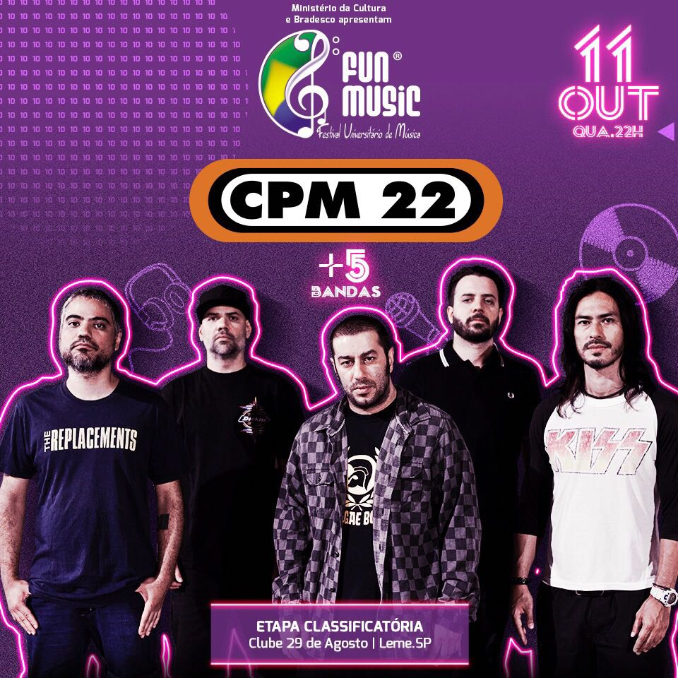 CPM 22 - 11/10/17 - Leme - SP