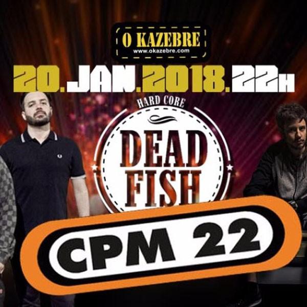 CPM 22 e Dead Fish - 20/01/18 - São Paulo - SP