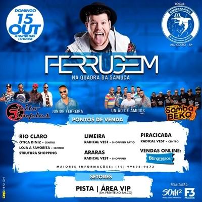 Ferrugem - 15/10/17 - Rio Claro - SP
