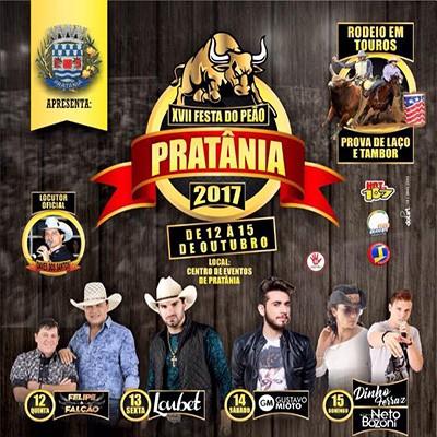 Festa do Peão - 12 a 15/10/17 - Pratânia - SP