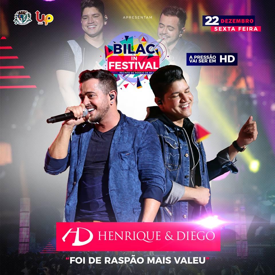 Henrique & Diego - 22/12/17 - Bilac - SP