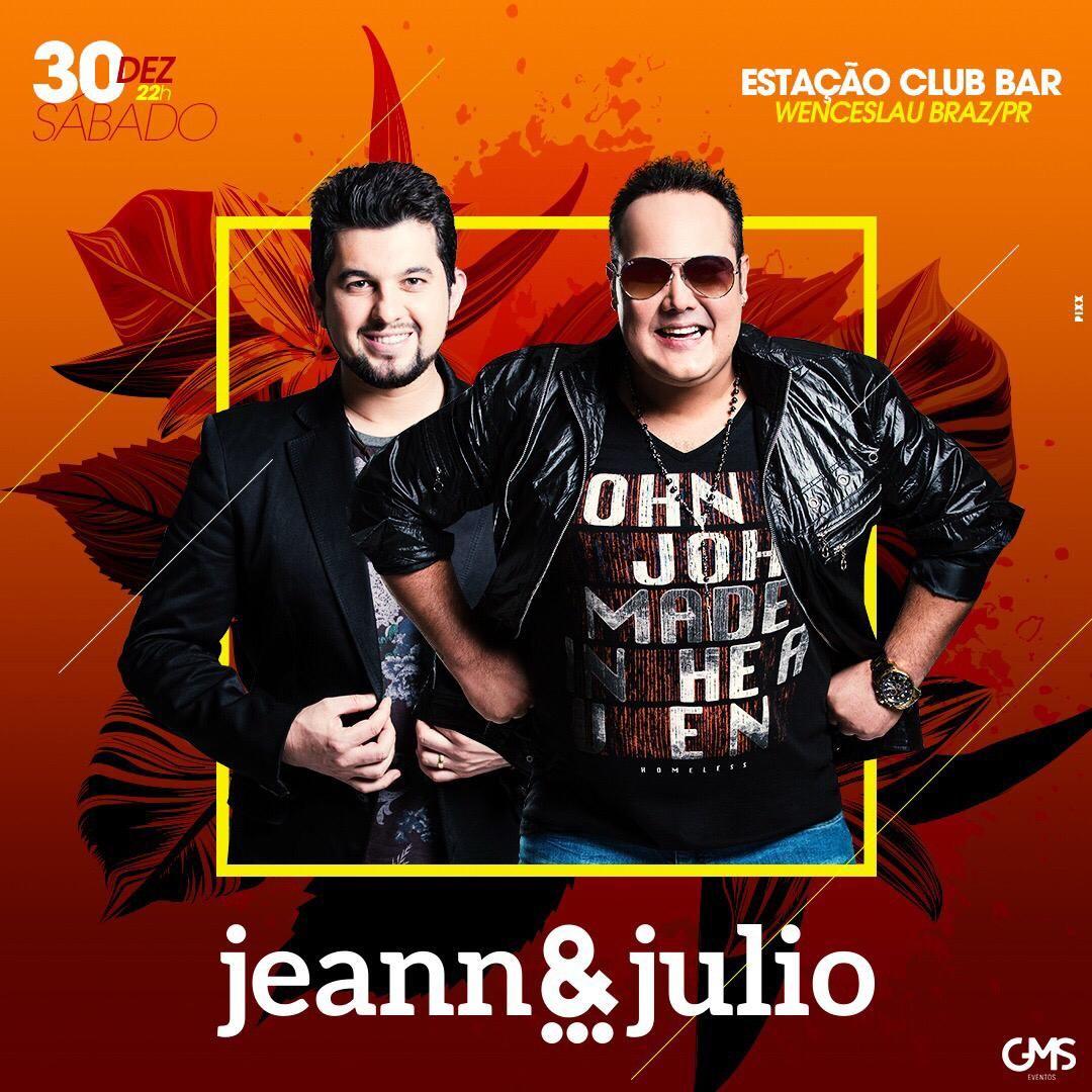 Jeann & Julio - 30/12/17 - Wenceslau Braz - PR