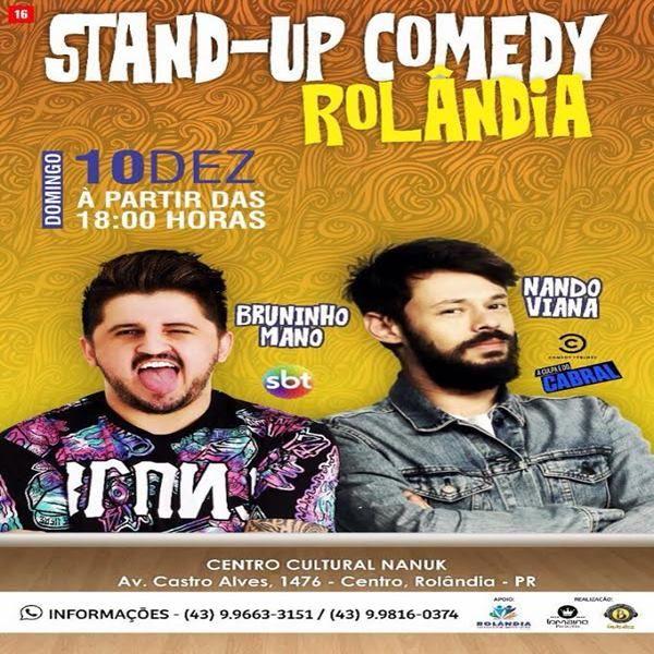 Nando Viana & Bruninho Mano - 10/12/17 - Rolândia - PR