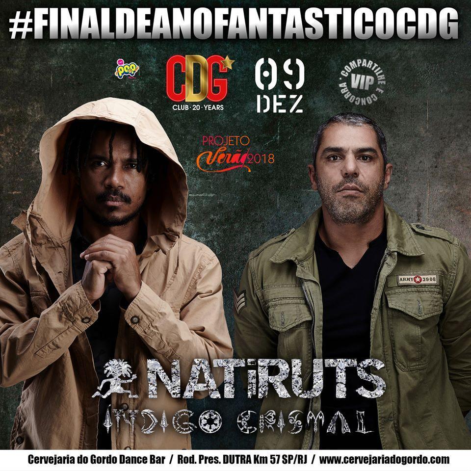 Natiruts - Cervejaria do Gordo - 09/12/17 - Lorena - SP