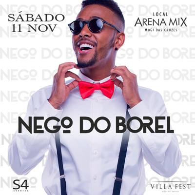 Nego do Borel - 11/11/17 - Mogi das Cruzes - SP