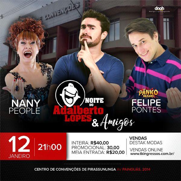 Noite do Adalberto Lopes & Amigos - 12/01/18 - Pirassununga - SP