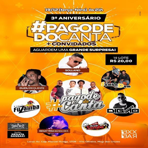Pagode do Canta - 19/12/17 - Mogi das Cruzes - SP