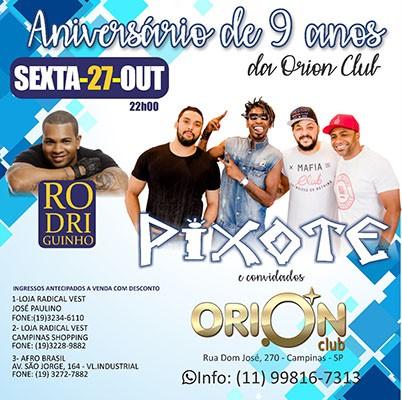 Pixote e Rodriguinho - 27/10/17 - Campinas - SP