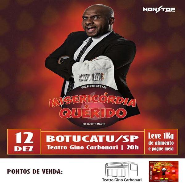 Pr. Jacinto Manto - 12/12/17 - Botucatu - SP