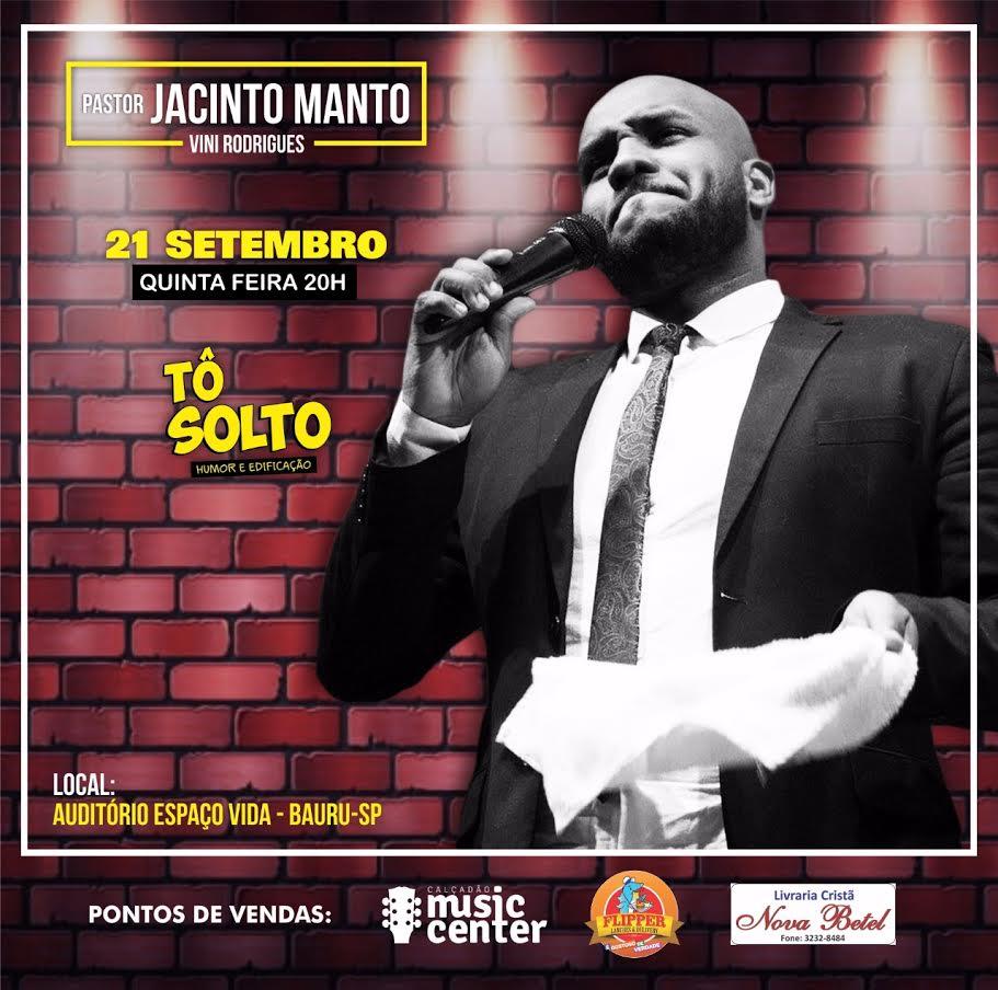 Pr. Jacinto Manto - 21/09/17 - Bauru - SP