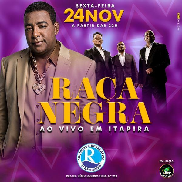 Raça Negra - 24/11/17 - Itapira - SP