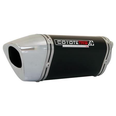 ESCAPAMENTO COYOTE TSR PRETO - CB 600 F HORNET