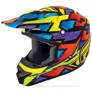 CAPACETE FLY KINETIC BLOCK OUT 2015