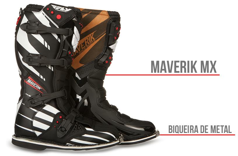 BOTA FLY MAVERIK MX MOTOCROSS E ENDURO