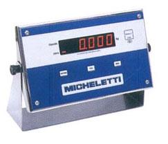 INDICADOR DE PESO MODULO DIGITAL  - MICHELETTI - ID-5000  - INOX