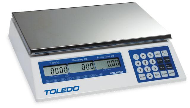 BALANÇA DIGITAL COMPUTADORA PRIX 3 PLUS - TOLEDO