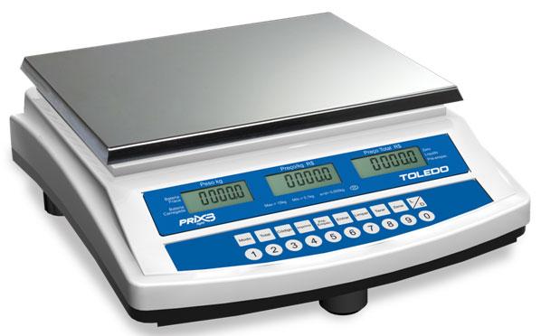 BALAN�A DIGITAL COMPUTADORA - PRIX 3 Light BATERIA - TOLEDO - PRONTA ENTREGA  - Balan�a I Digital I Eletr�nica I Comercial I Industrial I Balan�as Net