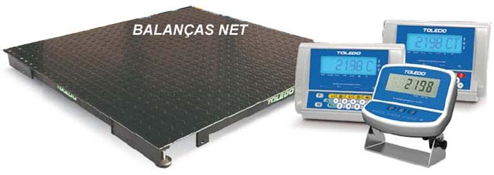BALANÇA ELETRÔNICA DIGITAL  PESADORA - 1,00 x 1,00 - 4Células - TOLEDO
