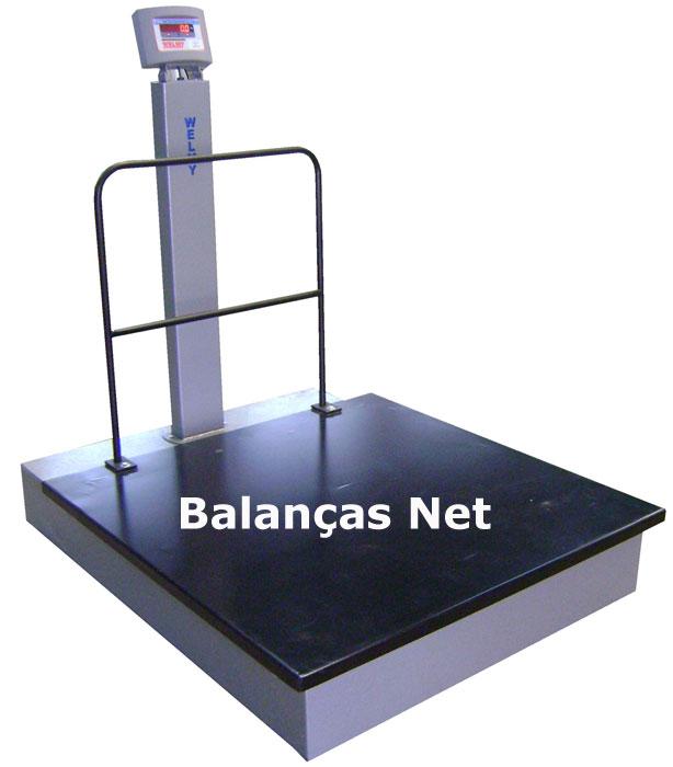 BALANÇA ELETROMECÂNICA 1000kg PLATAF.1,00x1,00 (W-1000) WELMY