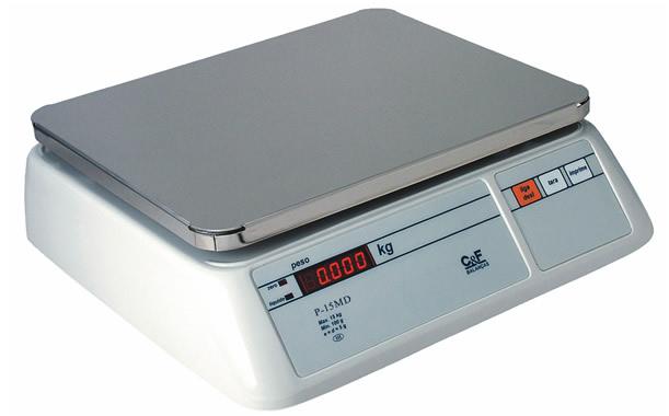 BALANÇA ELETRÔNICA DIGITAL PESADORA TRÍPLICE ESC.  6/15/30kg - C&F