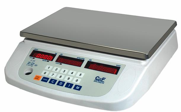 BALANÇA DIGITAL  ELETRÔNICA COMPUTADORA COMERCIAL- 15kg