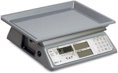 BALANÇA DIGITAL COMERCIAL COM BATERIA -100horas-6kg