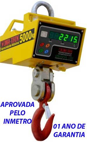 BALANÇA SUSPENSA ELETRÔNICA 3000kg