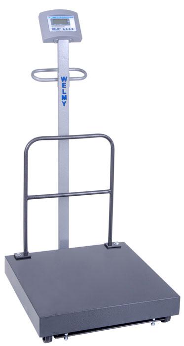 BALANÇA ELETRÔNICA MÓVEL 300kg (W300 LCD) 40x50 - WELMY