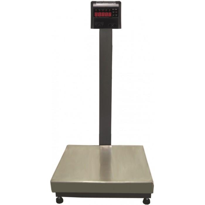 BALANÇA ELETRÔNICA INOX 100kg x 20g - 50x40cm - ABS - Com Coluna -  RAMUZA