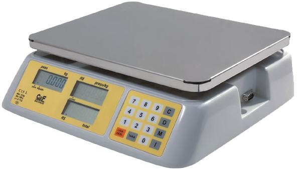 BALANÇA DIGITAL - TRÍPLICE ESCALA  - 6/15/30kg - C6 LT - Com Bateria