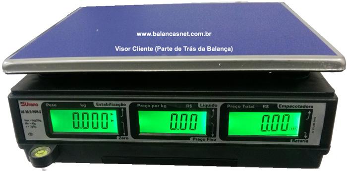 BALANÇA COMPUTADORA US 20/2 POP-S COM BACKLIGHT E BATERIA
