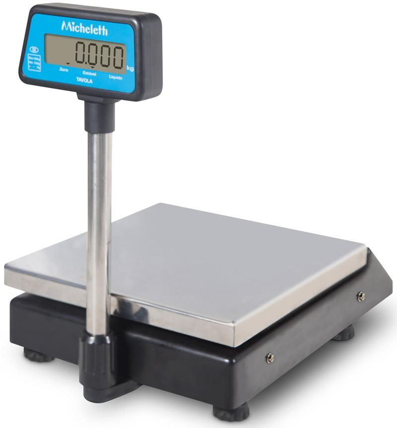 Balança Eletrônica Digital de Precisão -3kg x 0,5g - Com Coluna