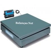 BALANÇA ELETROMECÂNICA 300kg  - Plataforma 80x80cm  -  MICHELETTI