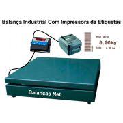 BALANÇA ELET. 1.000kg -1,00x1,00m - Com Impressora