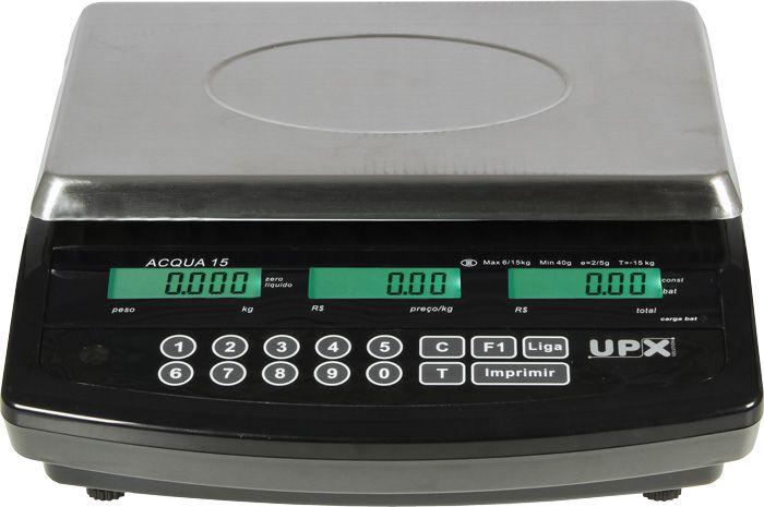 Balança Digital 15kg Calculadora de Preço Consumidor  SELO e LACRE do INMETRO