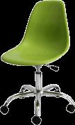 Cadeira Girat�ria PSCC Eames Polipropileno Verde