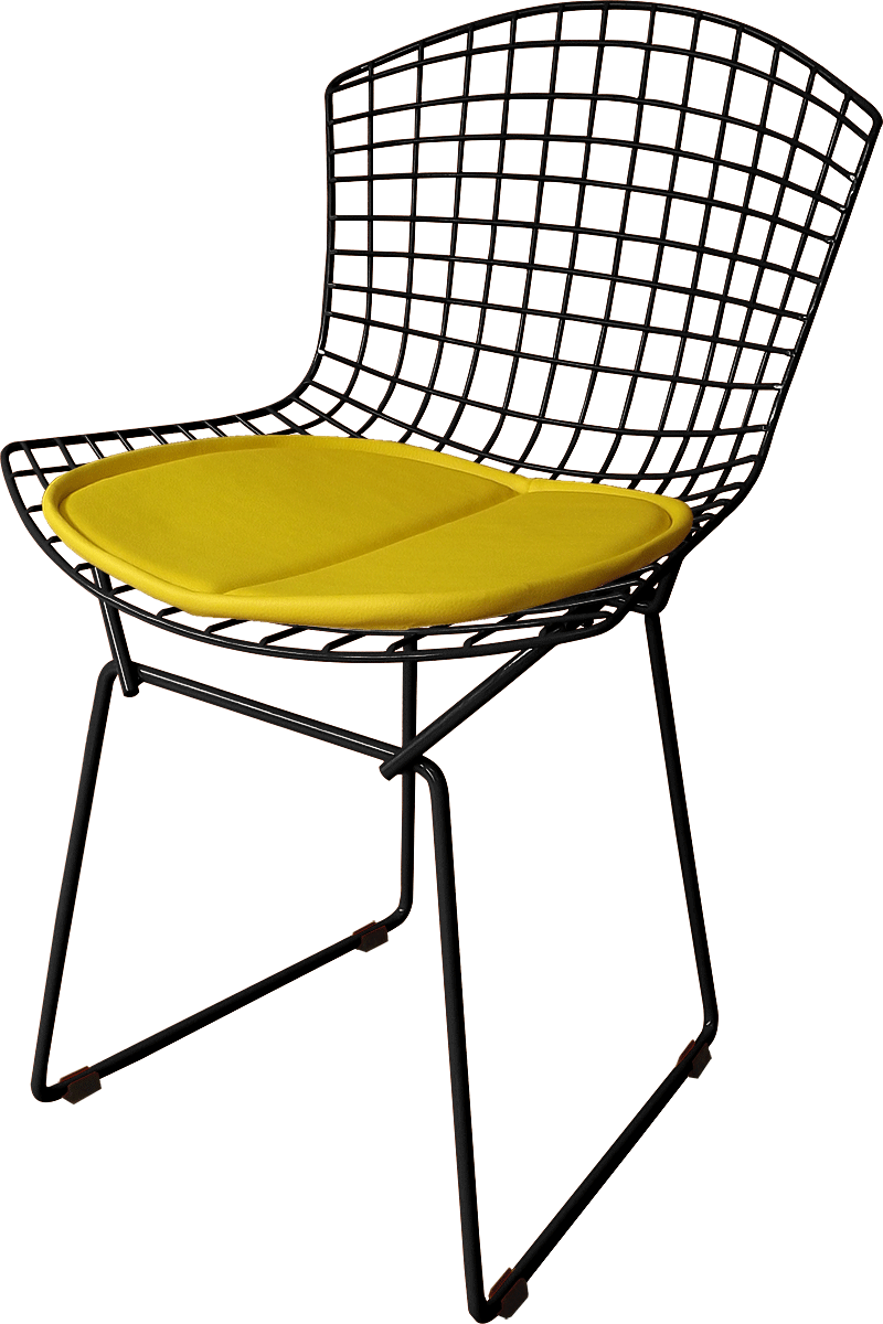 Cadeira Bertoia Tradicional Pintada Epoxi - Linha Color - Com Assento