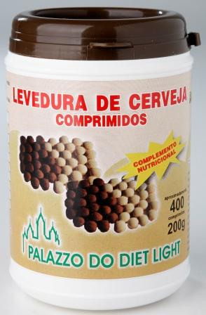 LEVEDURA DE CERVEJA COMPRIMIDOS  - PALAZZO DO DIET LIGHT